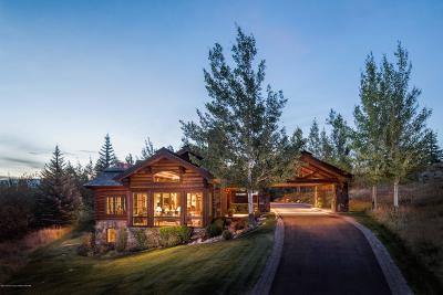Jackson, Teton Village, Wilson Single Family Home For Sale