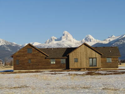 Teton Village, Tetonia, Driggs, Jackson, Victor, Swan Valley, Alta Single Family Home For Sale: 118 Wild Cat Canyon Loop
