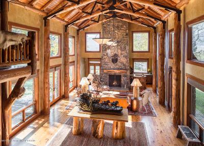 Jackson, Teton Village, Wilson Single Family Home For Sale: 3420 W Eagle Crest Dr