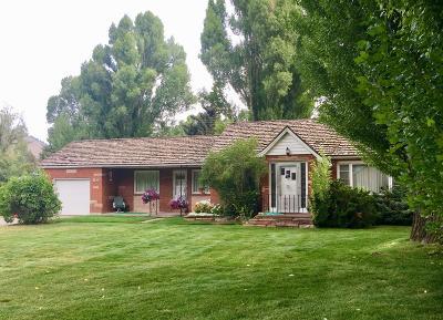 Jackson Single Family Home Pending Contingent: 255 E Kelly Ave