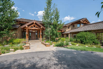 Jackson, Teton Village, Wilson Single Family Home For Sale: 2615 W Buttercup Lane