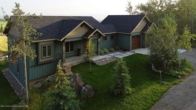 Star Valley Ranch WY Single Family Home Pending Contingent: $459,500