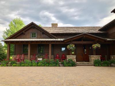 Driggs, Felt, Tetonia, Victor, Alta, Hoback Jct., Jackson, Moran, Teton Village, Wilson Single Family Home For Sale: 2775 S Silver Fox
