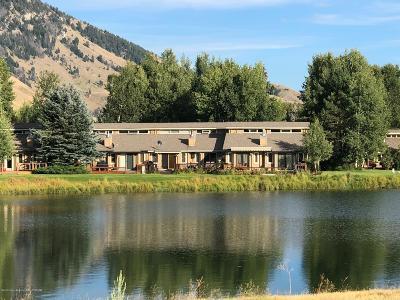 Teton Village, Tetonia, Driggs, Jackson, Victor, Swan Valley, Alta Condo/Townhouse For Sale: 1655 W Big Trail Drive #403