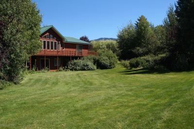Teton Village, Tetonia, Driggs, Jackson, Victor, Swan Valley, Alta Single Family Home For Sale: 711 E 4000 S