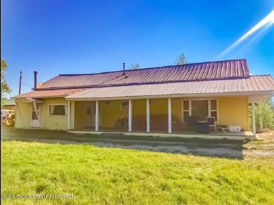 Swan Valley, Victor, Jackson, Driggs, Tetonia, Teton Village, Alta Single Family Home For Sale: 80 Depot St