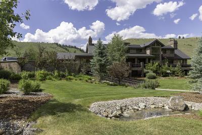 Teton County Farm & Ranch For Sale: 2800 E Horse Creek Road