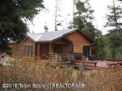 Star Valley Ranch WY Single Family Home For Sale: $205,000