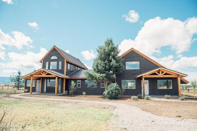 Teton Village, Tetonia, Driggs, Jackson, Victor, Swan Valley, Alta Single Family Home For Sale: 3213 Cache Vista Dr
