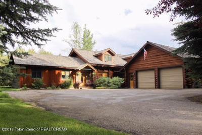 Wilson Single Family Home For Sale: 3750 Sylvester Ln