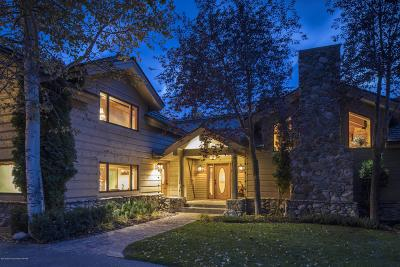 Jackson WY Single Family Home For Sale: $7,950,000