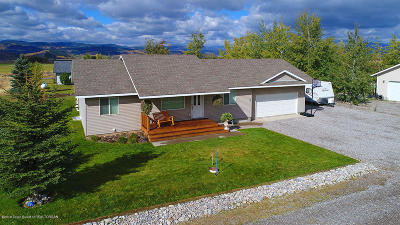 Star Valley Ranch Single Family Home Pending Contingent: 150 Lilac Dr.