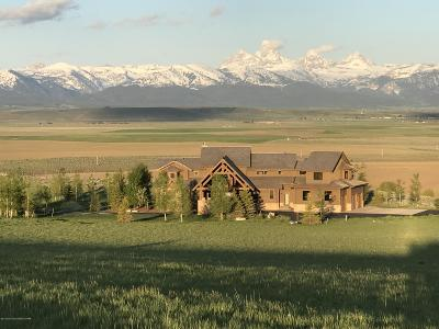 Tetonia ID Single Family Home For Sale: $1,495,000