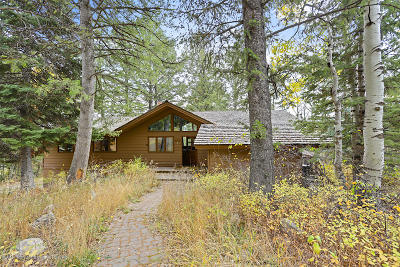 Teton Village WY Single Family Home For Sale: $3,500,000