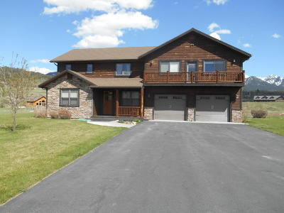 Alpine WY Single Family Home For Sale: $695,000