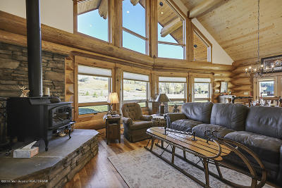 Alpine WY Single Family Home For Sale: $699,500