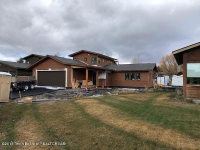Teton Village, Tetonia, Swan Valley, Victor, Driggs, Jackson, Alta Single Family Home For Sale: 3145 W King Eider Rd