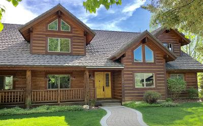 Jackson WY Single Family Home For Sale: $2,350,000