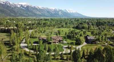 Jackson, Teton Village, Wilson Single Family Home For Sale: 3300 N Trapper Ln
