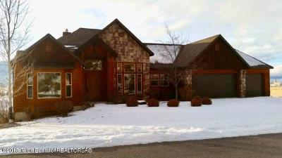 Afton WY Single Family Home Pending Contingent: $650,000