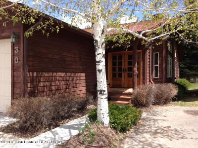 Jackson WY Single Family Home Pending Contingent: $1,225,000