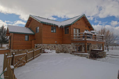 Teton Village, Tetonia, Driggs, Jackson, Victor, Swan Valley, Alta Single Family Home For Sale: 1260 W 3000 S