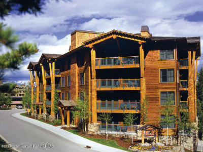 Teton Village WY Condo/Townhouse For Sale: $77,500