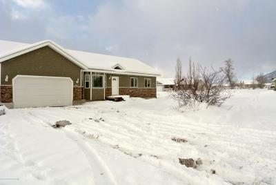 Star Valley Ranch Single Family Home Pending Contingent: 189 East St