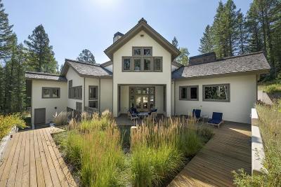 Teton Single Family Home For Sale: 6840 N Ellen Creek Rd
