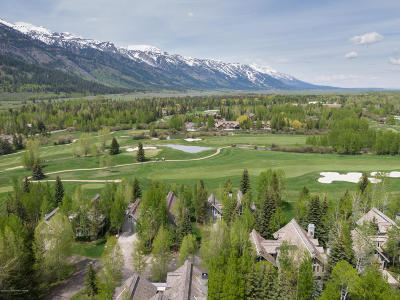 3 Creek Ranch, Teton Pines, Shooting Star, Snake River Sporting Club, Sublette Golf Course Single Family Home Pending Contingent