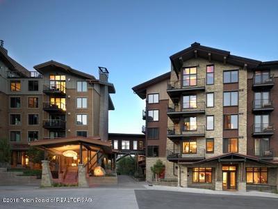 Teton Village, Tetonia, Driggs, Jackson, Victor, Swan Valley, Alta Condo/Townhouse For Sale: 3335 W Village Drive #419