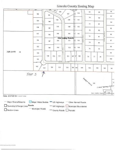 Star Valley Ranch Residential Lots & Land For Sale: Tumbleweed Lane