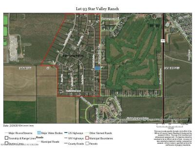 Star Valley Ranch Residential Lots & Land For Sale: LOT 93 Scrub Oak