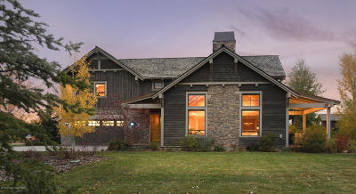 Teton Village, Tetonia, Jackson, Driggs, Victor, Swan Valley, Alta Single Family Home For Sale: 39 & 41 Scott Dr