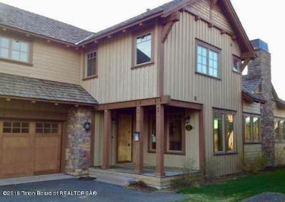 Teton Village, Tetonia, Jackson, Driggs, Victor, Swan Valley, Alta Single Family Home Pending Contingent: 52 Beesley Ln