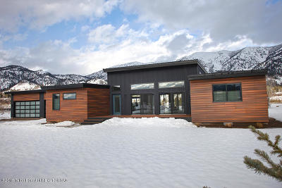 Alpine WY Single Family Home For Sale: $850,000