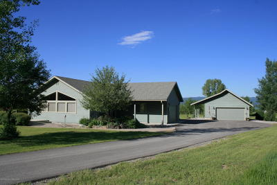 Star Valley Ranch Single Family Home For Sale: 1243 Hardman Rd