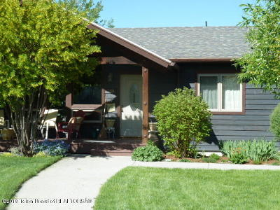 Swan Valley, Victor, Jackson, Driggs, Tetonia, Teton Village, Alta Single Family Home For Sale: 700 Buffalo Trl