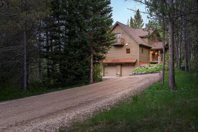 Teton Village, Tetonia, Jackson, Driggs, Alta, Swan Valley, Victor Single Family Home Pending Contingent: 6409 Bouquet Springs