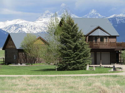 Driggs, Teton Village, Tetonia, Jackson, Victor, Swan Valley, Alta Single Family Home For Sale: 2903 Sage Crk