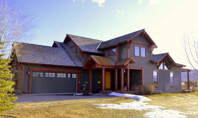 Teton Village, Tetonia, Driggs, Jackson, Victor, Swan Valley, Alta Single Family Home Pending Contingent: 100 AND 98 Moulton Ln