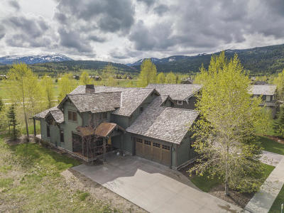 Teton Village, Tetonia, Driggs, Jackson, Victor, Swan Valley, Alta Single Family Home For Sale: 45 Scott Dr