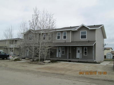 Pinedale Multi Family Home For Sale: 379-391 S Ashley Ave
