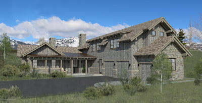 Jackson WY Single Family Home For Sale: $4,350,000