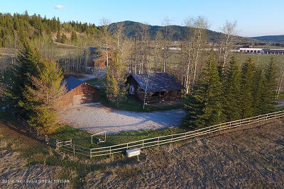 Alpine WY Single Family Home For Sale: $1,275,000