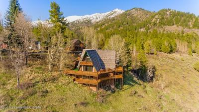 Alpine WY Single Family Home Pending Contingent: $399,000