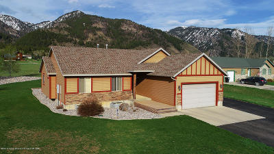 Star Valley Ranch Single Family Home Pending Contingent: 175 Alta Drive