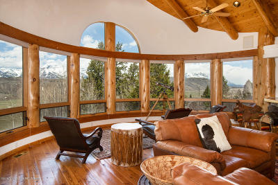 Jackson WY Single Family Home For Sale: $5,975,000