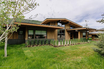 Teton County Single Family Home For Sale: 15505 Tall Timber Rd