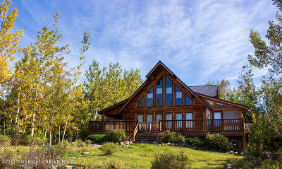 Driggs, Felt, Tetonia, Victor, Alta, Hoback Jct., Jackson, Moran, Teton Village, Wilson Single Family Home For Sale